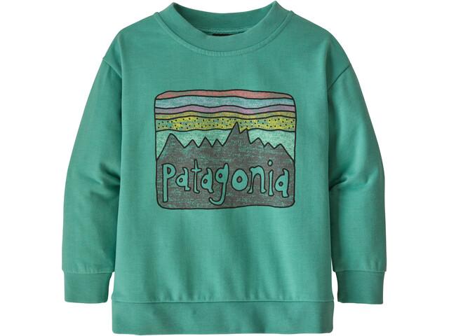 Patagonia Lightweight Trøje Børn, grøn